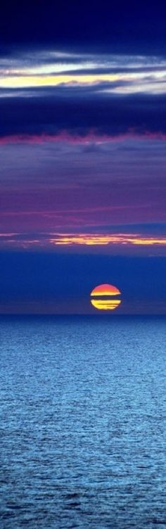 North Sea Sunset in the Netherlands