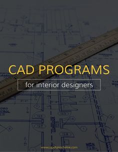 Look no further for the best CAD software for your interior design business. These are the top tools for your drawings and renderings.