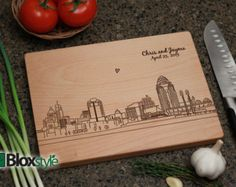 Personalized/Engraved Cutting Board Word by PegasusParchments