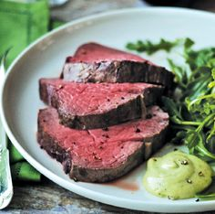 Slow-Roasted Filet of Beef with Basil Parmesan Mayonnaise * Barefoot Contessa (this was the easiest thing ever. doesn't even need tarragon, the beef is so fabulous on its own. my favorite recipe for a special occasion.)