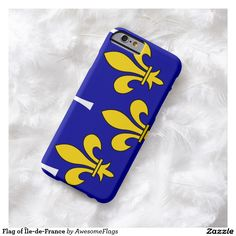 Flag of Île-de-France Barely There iPhone 6 Case
