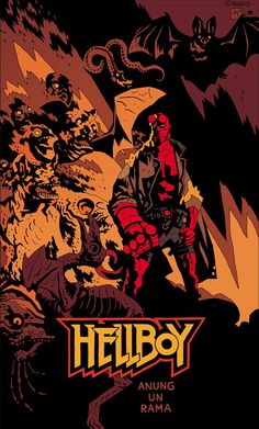 HELLBOY (1617/1944 - 2011) Art by Mike Mignola • IN HELL