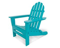 Find your outdoor retreat with the POLYWOOD Classic Oversized Curveback Adirondack. While this chair has the classic good looks you expect from an Adirondack chair, its generous seat, curved back and wider slats make it extra big on comfort. Polywood Adirondack Chairs, Plastic Adirondack Chairs, Adirondack Furniture, Polywood Outdoor Furniture, Patio Chairs, Outdoor Chairs, Outdoor Decor, Garden Chairs, Outdoor Ideas