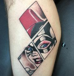 Image result for harley quinn tattoo