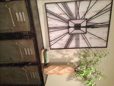 "Waco, Texas HGTV show ""Fixer Upper custom order clock GIANT industrial"
