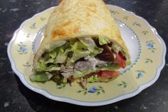 Low Carb Gyros Wrap 1