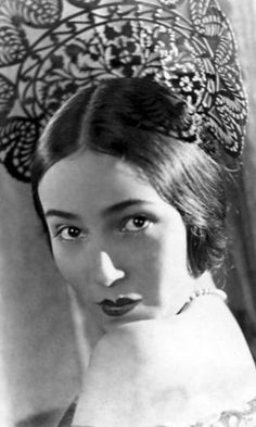 Dolores Del Rio - 1920s, silent actress picture by Movie-Fan, via Flickr