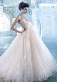 2014 New Style Lazaro 3300 Wedding Dress