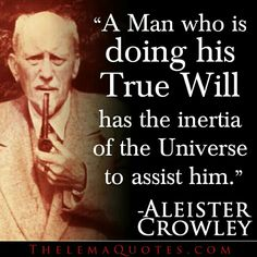 Image result for aleister crowley quotes
