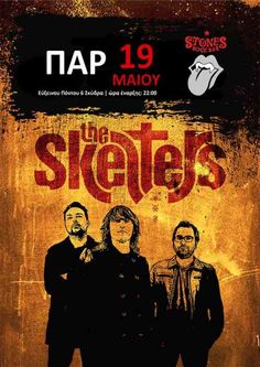 THE SKELTERS: Παρασκευή 19 Μαΐου @ Stones Rock bar (Σκύδρα)