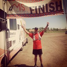 Congratulations Bill!!!! 200-miles run in 9-days to help END MS!!! So proud to have you on the team!!!#msruntheus #running #ultrarunning #colorado