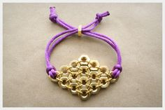 Hex Nut Bracelet Diy Instructions