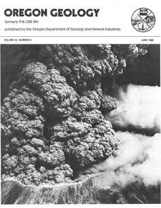 Oregon geology, by the Oregon Department of Geology and Mineral Industries