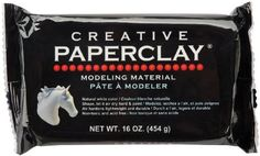 Creative Paperclay for Modeling Compound, 16-Ounce, White  #16-Ounce #ArtsandCraftsSupplies #CreativePaperclayforModelingCompound #Notions-InNetwork #White