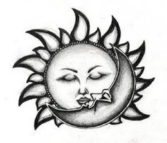 Moon Tattoos, Designs And Ideas : Page 36