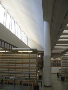 Otaniemi Library, Finland.  Alvar Aalto, architect.