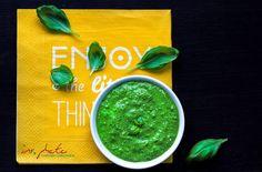 { blender & blenda }: Zielony sos bursztynowy