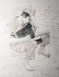 Niño Escritor Muerto.