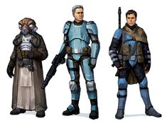 :My star wars group's characters, as depicted by will nunes : swrpg по Empire Characters, Star Wars Characters Pictures, Star Wars Pictures, Sci Fi Characters, Star Wars Games, Star Wars Rpg, Star Wars Species, Saga, Star Wars Design