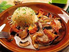 obrázek z archivu ireceptar.cz Pesto, Pork, Chicken, Kale Stir Fry, Pork Chops, Cubs