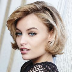 Work Hairstyles, Modern Hairstyles, Pretty Hairstyles, Winter Trends 2016, Pretty Short Hair, Medium Hair Styles, Curly Hair Styles, Hair Upstyles, Hair Color Techniques