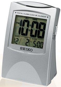 Seiko QHL005SLH Get Up and Glow Travel Alarm Clock