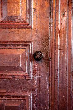#terra cotta, old  #door