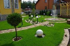 Садовые светильники в ландшафтном дизайне  #садовые_светильники #ландшафтный_дизайн
