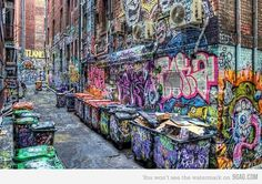 The street that never sleeps