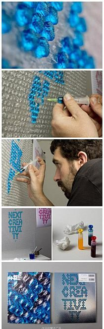 ✪✪✪ na tablicy DIY home przypisanej do kategorii DIY - Zrób to sam Bubble Wrap Crafts, Bubble Wrap Art, Crafts For Teens, Fun Crafts, Diy And Crafts, Arts And Crafts, Giant Bubbles, Recycling, Backdrops For Parties