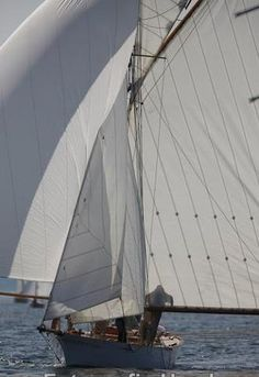 The ineffable beauty of sails.