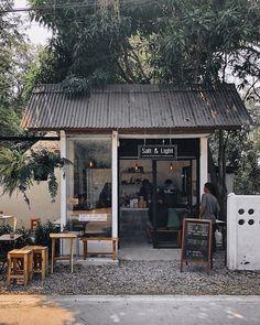 Home Decoration With Paper Craft Cafe Shop Design, Small Cafe Design, Cafe Interior Design, Small Coffee Shop, Coffee Store, Mini Cafe, Deco Restaurant, Modern Restaurant, Cafe Concept