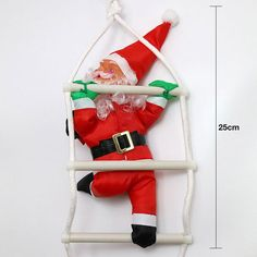Christmas Santa Claus Doll Tree Decorations With Stairnatal New Year