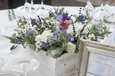 Centros de mesa para boda con flores