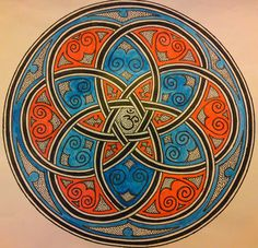 Celtic mandala by Madlookin, via Flickr