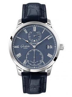 Glashutte Original Senator_Chronometer - blue - front