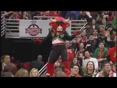 Chicago's Benny the Bull Mascot Compilation! - YouTube