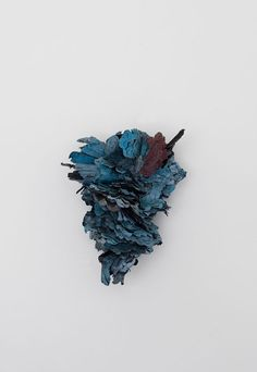 Recycled paper, paint, linen, coal, brass, stainless steel, graphite and glue  - ATTAI CHEN-ISRAEL