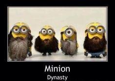 Duck Dynasty Minions.... HAHA