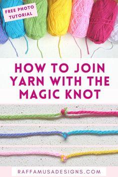 Crochet Cowl Free Pattern, Crochet Stitches Patterns, Knitting Patterns, Knitting Stiches, Lace Knitting, Joining Yarn Crochet, Crochet Yarn, Beginner Crochet Tutorial, Crochet Instructions