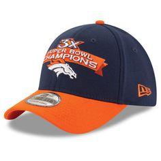 menu0027s denver broncos new era navyorange super bowl 50 champions chase 39thirty flex hat - Denver Bronco Colors
