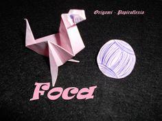 Origami - Papiroflexia. Tutorial: Foca, nivel medio, rápido