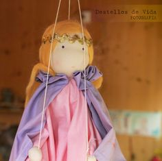lovely waldorf puppet