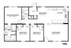 Clayton Homes | Home Floor Plan | Manufactured Homes, Modular Homes, Mobile Home