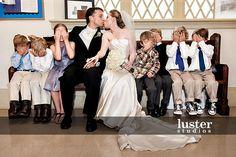 cute wedding kids children