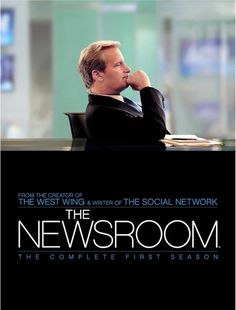 """""""The Newsroom""""  Not going to lie, I teared up on the season 3 finally.  Excellent"""