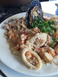 Seafood Rice- Santiago, Chile, el galeon
