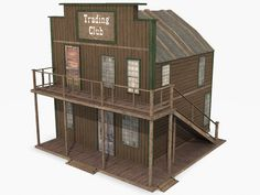 Western Collection XL Model available on Turbo Squid, the world's leading provider of digital models for visualization, films, television, and games. Minecraft House Designs, Minecraft Houses, Forte Apache, Old West Town, Comic Book Drawing, Putz Houses, Model Trains, Wild West, Scale Models