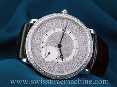 Unworn #Cartier #Ronde #Louis WR007003 white gold, diamond dial, box and papers! In Stock!