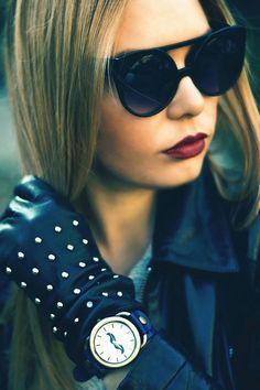 Fashion Week 2014: Cat Eye Sunglasses Dominate - Vintage Celebrity Sunglasses Eyewear Eyeglasses Glasses Mens Women's